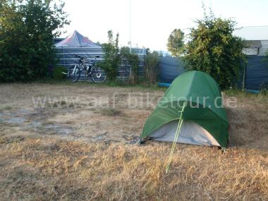 Auf dem Campingplatz Dahme