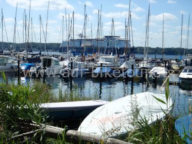 Hafen an der Kieler Förde