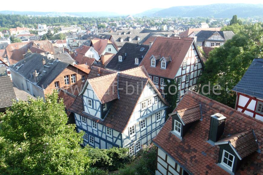 Ausblick auf Marburg