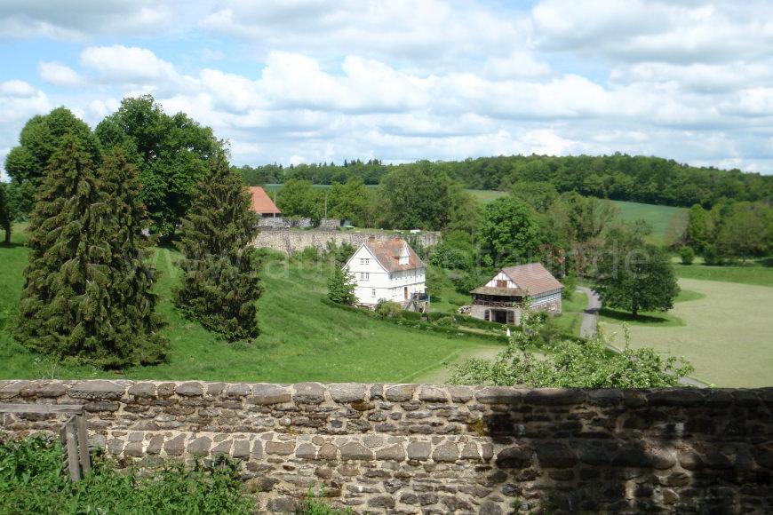 Aussicht am Schloss Eisenbach