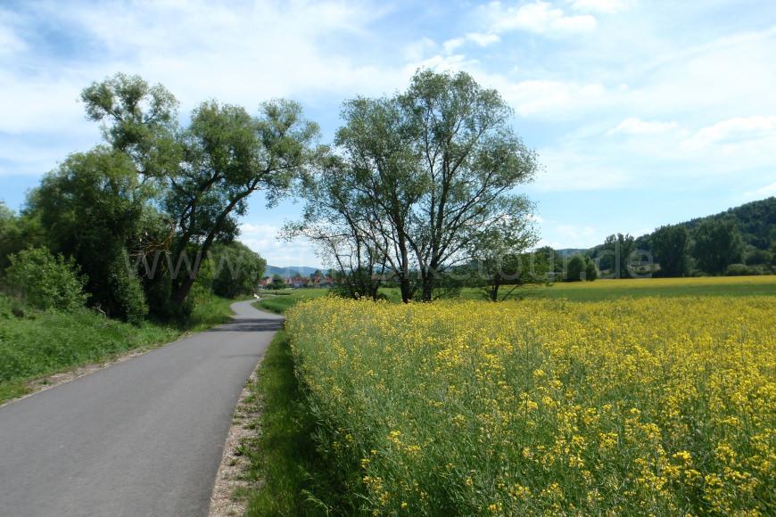 Bahnradweg in Thüringen