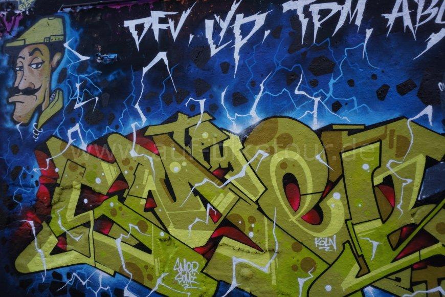Graffiti Alte Feuerwache