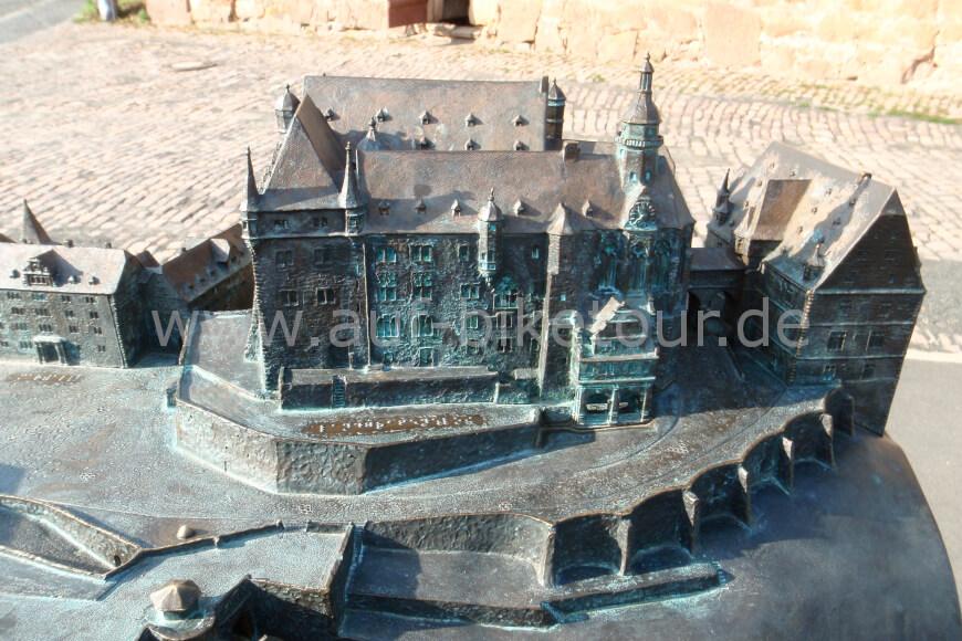 Modell des Landgrafenschlosses