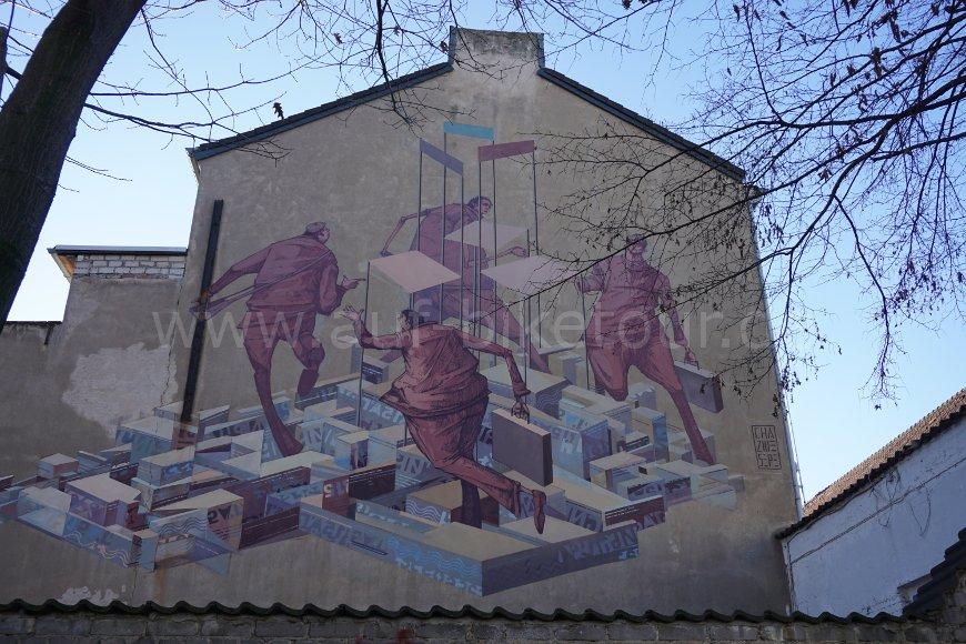 Streetart Sepe und Chazme