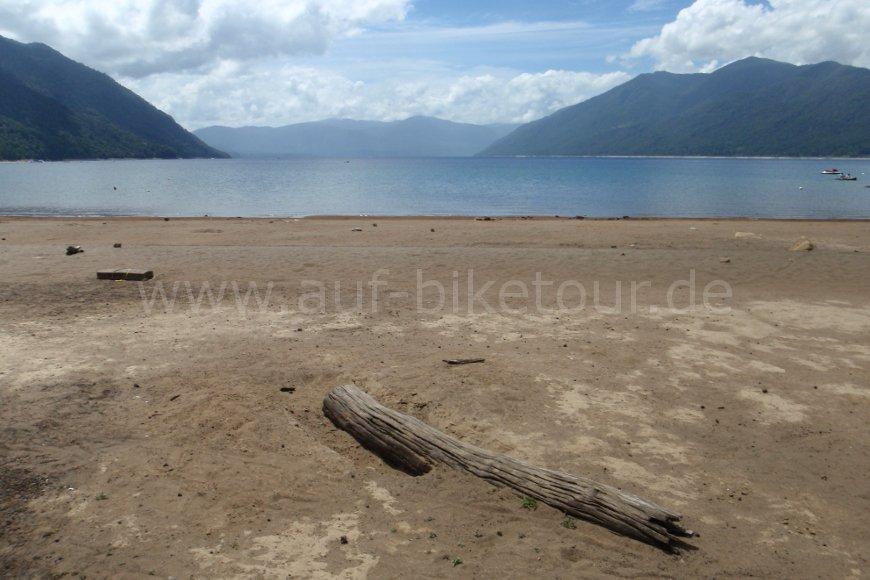 Strand Lago de Caburgua
