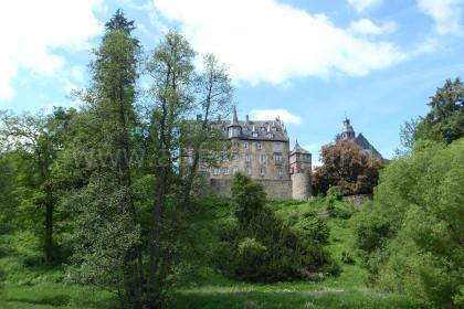 Anblick von Schloss Eisenbach