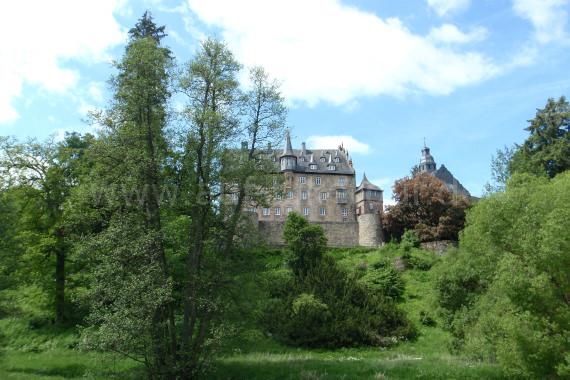 Ansicht Schloss Eisenbach