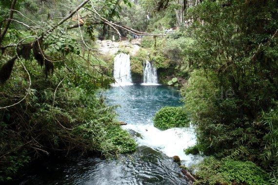 Wasserfälle Ojos de Caburgua